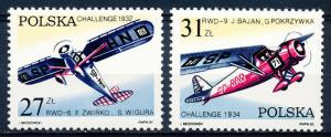 Poland #2515-2516 Multiple MNH
