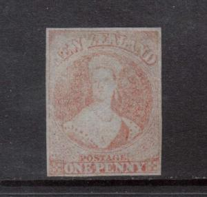 New Zealand #4 Mint **With Certificate**