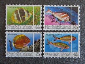 Norfolk Island #339-42 Mint Never Hinged- (4DC) WDWPhilatelic