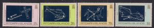 Pitcairn Island 1984 QE2 Set Night Sky Umm SG 259 - 562 ( B492 )