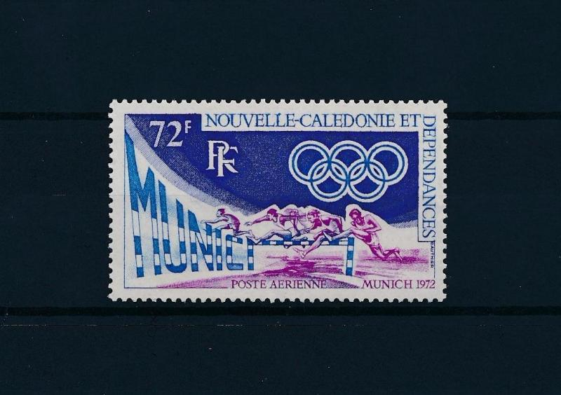 [56350] New Caledonia 1972 Olympic games Munich Athletics MNH