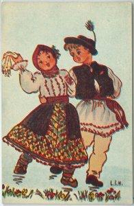 64899 - ROMANIA - POSTAL HISTORY: POSTAL STATIONERY CARD - DANCING Music