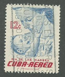 1956 Cuba Scott Catalog Number C134 Used