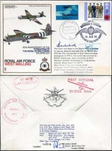 SC33e 60th Ann Formation of The Royal Flying Corps Pilot and Nav Signed