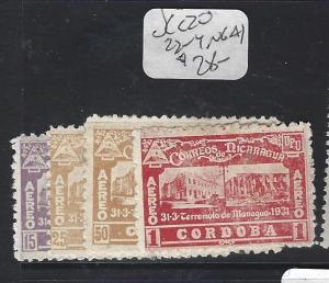 NICARAGUA  (P0701B)   SC C20,   C22-4,   NGAI