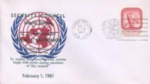 UN SECURITY COUNCIL SPECIAL SESSION 1961