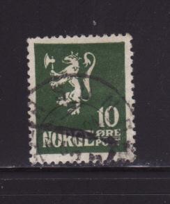 Norway 100 U Lion Rampart