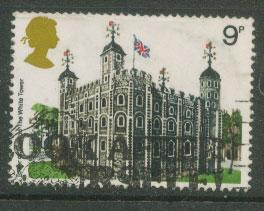 Great Britain QE II  SG 1054  Used