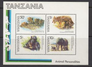 Tanzania 204a Animals mnh