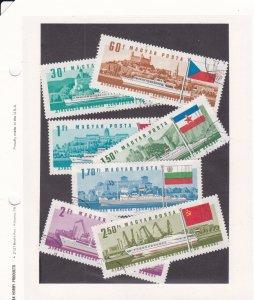 Hungary # 1828-1834, Ships, Used, 1/3 Cat.