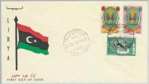 67135 - LIBYA  - Postal History -   FDC COVER  1966: BOY SCOUTS - RARE!