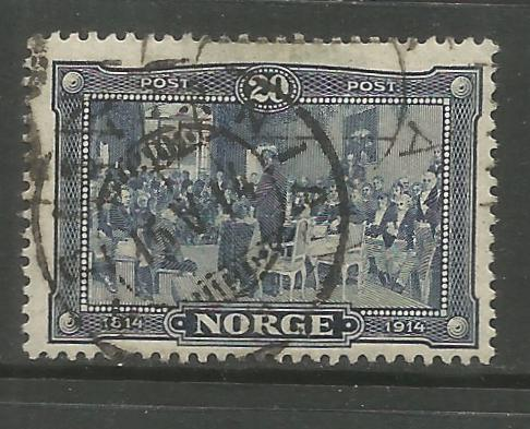 NORWAY, 98, USED, CONSTITUTIONAL ASSEMBLY