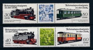 [61568] Germany DDR 1984 Railway Train Elsenbahn Chemin De Fer  MNH