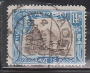 ADEN Scott # 23A Used - KGVI & Capture Of Aden