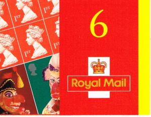 Great Britain Booklet SG PM3