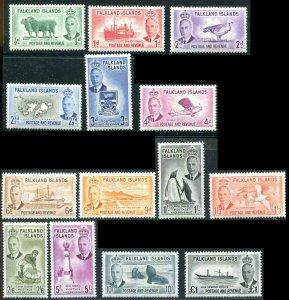 Falkland Island 1952 Set Sc 67 - 120  MVLH