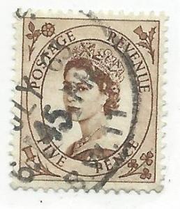 GB #299 5p Queen Elizabeth II (U) CV $0.75