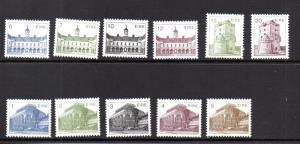 Ireland 537-547 MNH