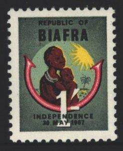 Biafra 1967 Independence MNH
