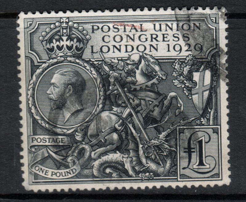 Great Britain #209 Very Fine Used With Deep Color