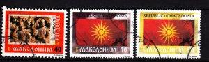 Macedonia 2, 5, 7 used