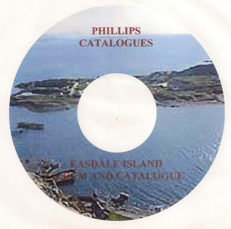 SCOTLAND - Easdale Island -  CD CATALOGUE AND ALBUM