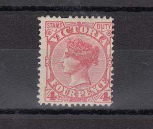 Australia Victoria QV 1886 4d Mint MH Gum J1182