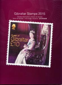 Gibraltar 2015 MNH Yearbook Full Sets Churchill WWI WW1 Aviation Royalty Stamps
