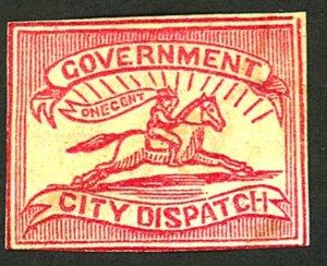 U.S. #1LB9 GOVERMENT CITY DISPATCH MINT NG HR
