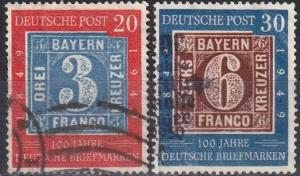 Germany #667-8 F-VF Used  CV $79.00 (A18428)