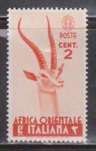 ITALIAN EAST AFRICA Scott # 1 MH