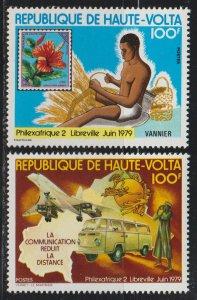 Burkina Faso SC 496-7 Mint Never Hinged