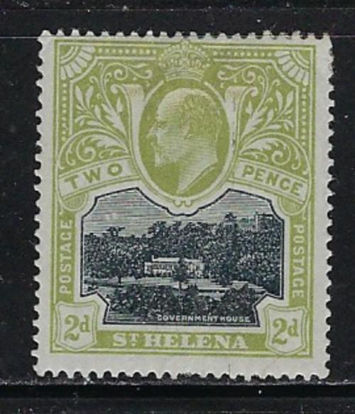 St.Helena 52 Hinged 1908 issue