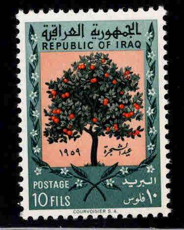 IRAQ Scott  231 MNH** 1959 Orange Tree Arbor day stamp
