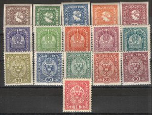 Austria 1916-18 Collection MNH VG/F - Regular issues and Newspaper stamps