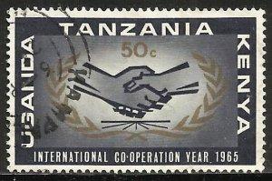 Kenya, Uganda & Tanzania 1965 Scott# 157 Used