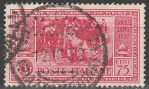 Italy #285 F-VF Used CV $9.50 (D2233)