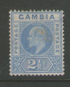 Gambia 1904 KEVII SG 60 MH
