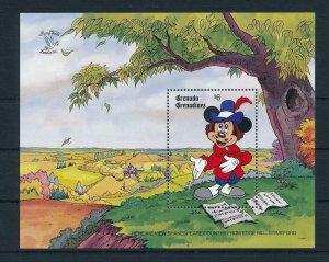 [22467] Grenada Grenadines 1990 Disney Mickey Mouse at Shakespeare MNH