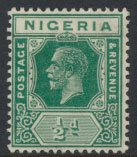Nigeria  SG 15b MH  Die II  1925 issue please see scan