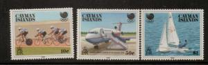 CAYMAN ISLANDS SG671/3 1988 OLYMPIC GAMES MNH
