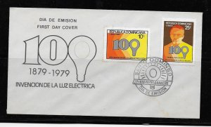 DOMINICAN REPUBLIC STAMP COVER #SEPTG1