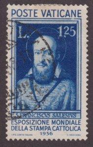 Vatican City 53 St. Francis de Sales 1936