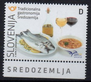 SLOVENIA - 2020 - EUROMED - GASTRONOMY - OENOLOGY - FOOD - WINE -