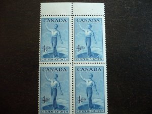 Canada - Mint Block of 4 - Confederation - Canadian Citizenship Issue