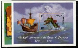 Barbuda Scott 1302-3 Mint NH (Catalog Value $50.00)