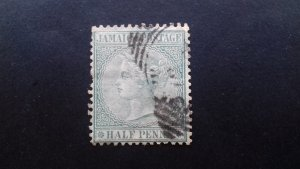 Jamaica 1885 -1886 Queen Victoria - New Colours Used
