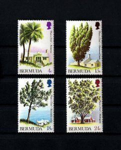BERMUDA - 1972 - QE II - TREES - PALMETTO - CEDAR ++ MINT - MNH SET!