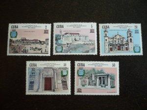 Stamps - Cuba - Scott#2820-2824 - MNH Set of 5 Stamps