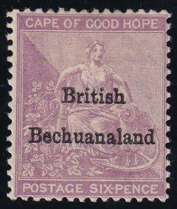 Bechuanaland 1885-1887 SC 8 Mint